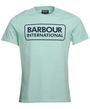 Men's Barbour International Essential Large Logo Tee - Peppermint