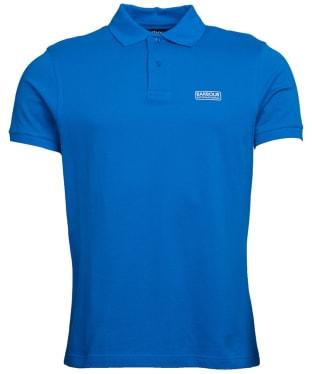 Men's Barbour International Essential Polo - Neela Blue