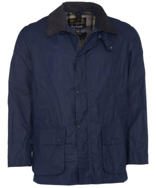 Men's Barbour Lightweight Ashby Waxed Jacket - Indigo