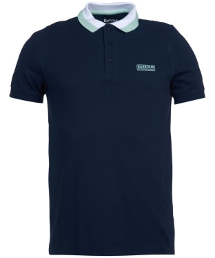 Men's Barbour International Ampere Polo - International Navy