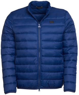 Men's Barbour International Reed Quilted Jacket - Regal Blue
