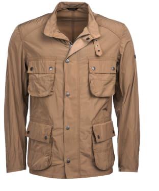 Men's Barbour International Weir Casual Jacket - Military Brown