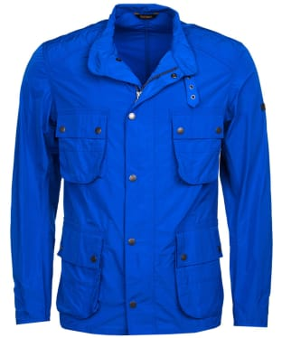 Men's Barbour International Weir Casual Jacket - Electric Blue