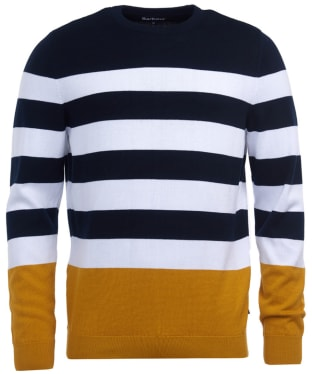 Men's Barbour Copinsay Crew Sweater - Golden
