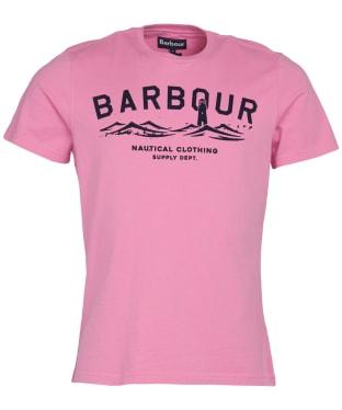 Men's Barbour Bressay Tee - Mauve