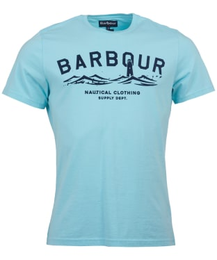 Men's Barbour Bressay Tee - Aquamarine