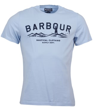 Men's Barbour Bressay Tee - Heritage Blue