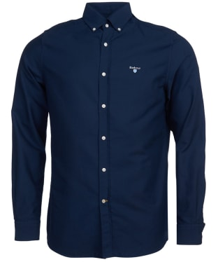 Men's Barbour Oxford 3 Tailored Shirt - Navy