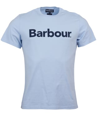 Men's Barbour Logo Tee - Heritage Blue