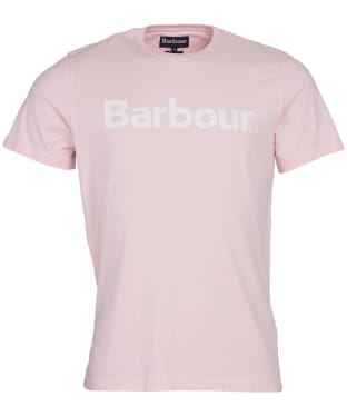 Men's Barbour Logo Tee - Chalk Pink