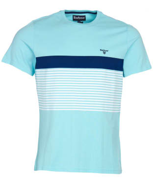 Men's Barbour Braeside Tee - Aquamarine