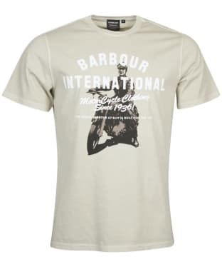 Men's Barbour International A7 Edition Tee - Washed Sand Dune