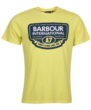 Men's Barbour International A7 Edition Tee - Washed Sunshine