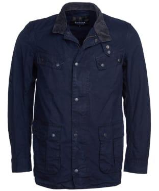 Men's Barbour International Summer Wash Duke Casual Jacket - Navy