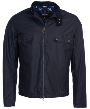 Men's Barbour International Steve McQueen Wilkin Waxed Jacket