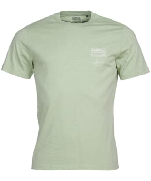 Men's Barbour International Steve McQueen Signature Tee - Vintage Green
