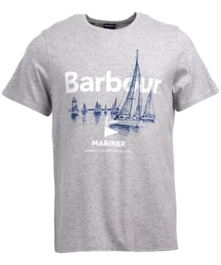 Men's Barbour Skiff Tee - Grey Marl