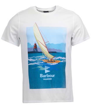 Men's Barbour Outboard Tee - White