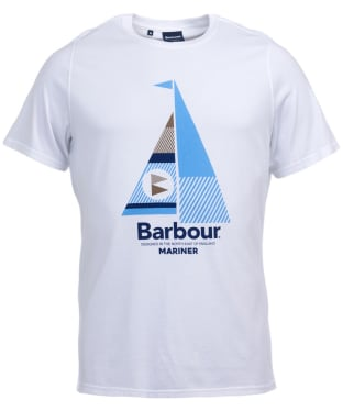Men's Barbour Sail Tee - White