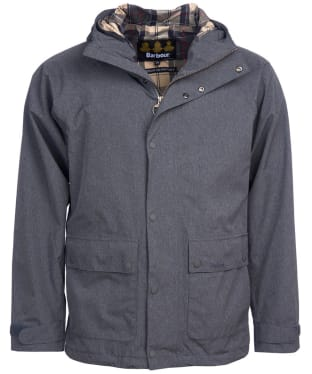Men's Barbour Pablo Waterproof Jacket - Grey Melange