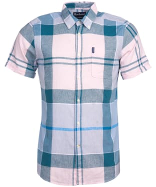 Men's Barbour Douglas S/S Shirt - Pink
