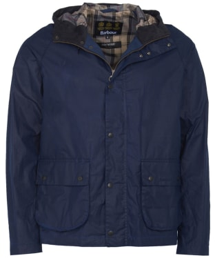 Men's Barbour Lightweight Campbell Waxed Jacket - Indigo