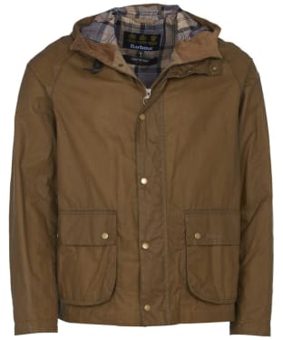 Men's Barbour Lightweight Campbell Waxed Jacket - Sand