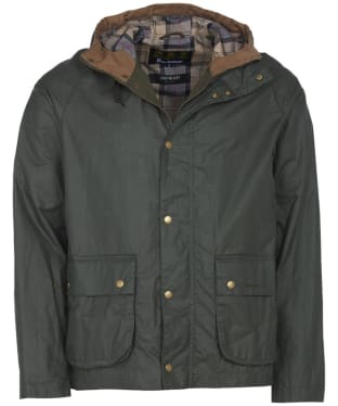 Men's Barbour Lightweight Campbell Waxed Jacket - Light Forest