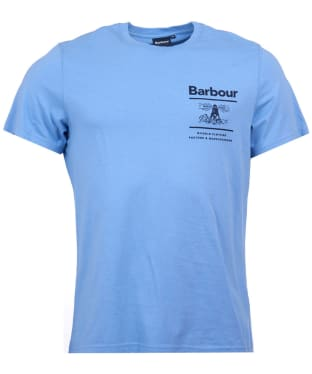Men's Barbour Chanonry Tee - Colorado Blue