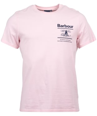Men's Barbour Chanonry Tee - Chalk Pink