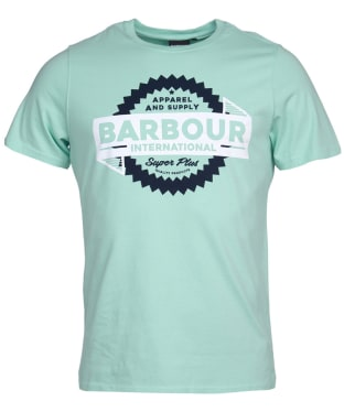 Men's Barbour International Compressor Tee - Peppermint