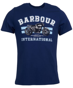 Men's Barbour International Bracket Tee - Regal Blue