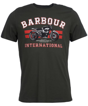 Men's Barbour International Bracket Tee - Jungle Green