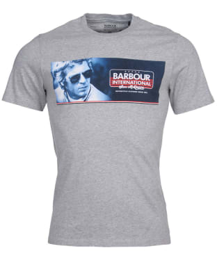 Men's Barbour International Steve McQueen Pinstripe Tee