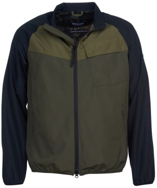 Men's Barbour International Row Waterproof Jacket - Olive