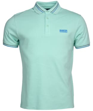 Men's Barbour International Switch Tipped Polo Shirt - Peppermint