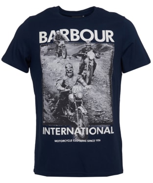 Men's Barbour International Archieve Comp Tee - Navy