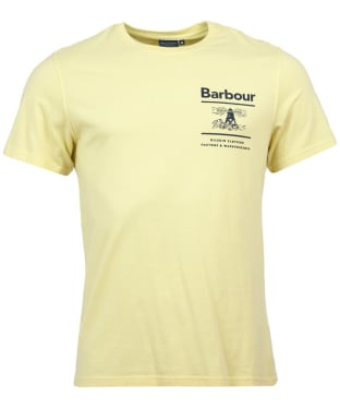 Men's Barbour Chanonry Tee - Lemon