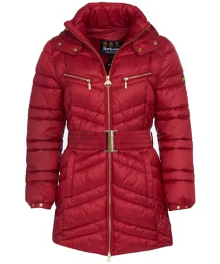 Women's Barbour International Cross Quilt Jacket