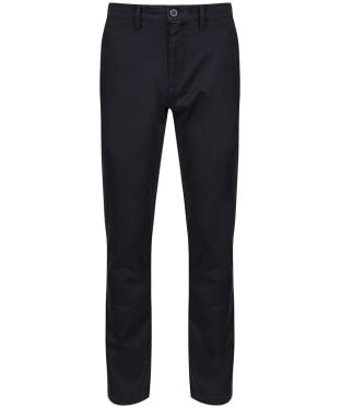 Men's R.M Williams Stirling Stretch Twill Chinos - Regular Fit - Straight Leg - Navy