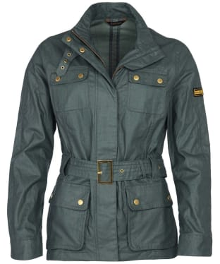 Women's Barbour International Bearings Casual Jacket - Tussock