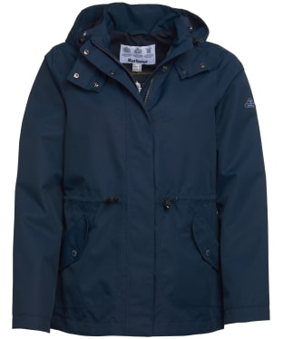 Women's Barbour Promenade Waterproof Jacket - Navy