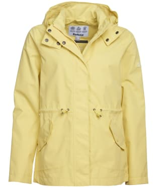 Women's Barbour Promenade Waterproof Jacket - Sunshine