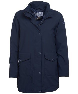 Women's Barbour Seaview Waterproof Jacket - Navy