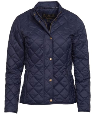 Women's Barbour Elmsworth Quilted Jacket - Navy
