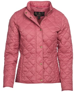 Women's Barbour Elmsworth Quilted Jacket - Tayberry