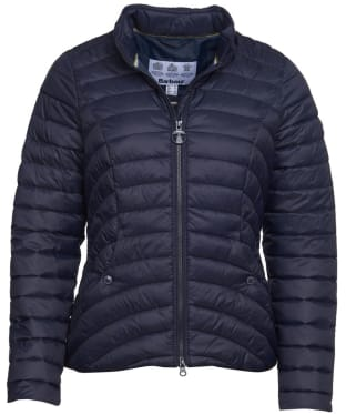 Women's Barbour Shoreward Quilted Jacket - Navy