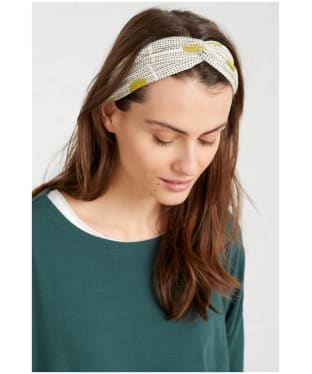 Women's Seasalt Flower Harvest Headband - Spotty Dune