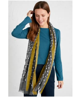 Women's Seasalt Pretty Printed Scarf - Chalked Spot Nickel