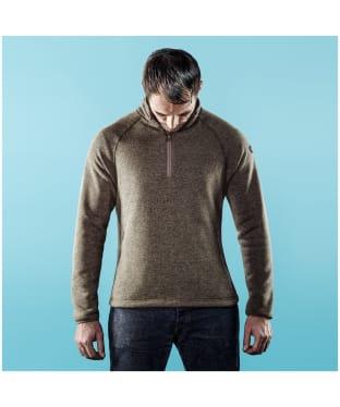 Men's Musto Super Warm Polartec® Windjammer ½ Zip Fleece - Forest Green